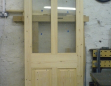 Scandanavion Four Panel Victorian Door
