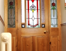 Bespoke Stained Glass Door