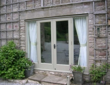 Hardwood French Doors