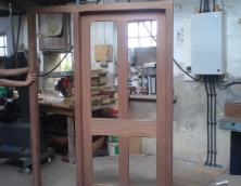 Hardwood stop champher Door and frame