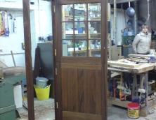 Georgian Door in the workshop