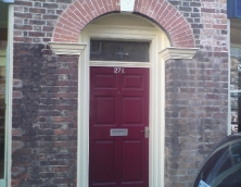 Georgian front door and frame
