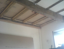 ceiling beam fitted