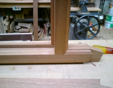 jointed timber moulding