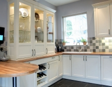 Bespoke fitted solid wood kitchens by W Woolley Joinery, Buxton