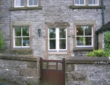 Combination of Mock Sash and Real Sash Windows