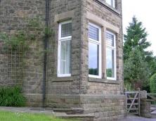 Restoration of Stone Bay Windows