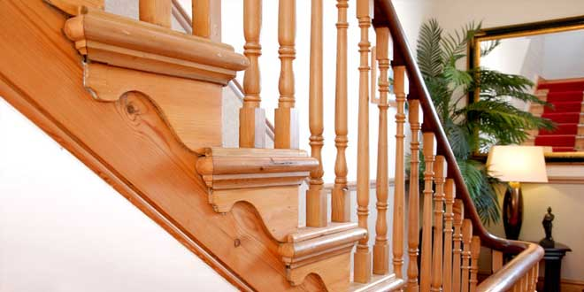 Handmade wooden staircases in Buxton, Glossop and the High Peak